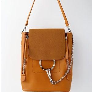 Lulus brown backpack